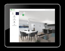 Habiteo - configurateur de logement - tablette