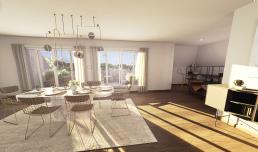 La visite virtuelle Excellence du programme Horizon Loire à Tours par Eiffage Immobilier